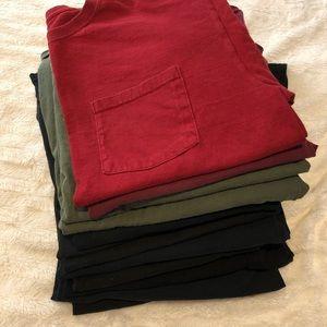 Men's blank t shirts bundle. 12 shirts